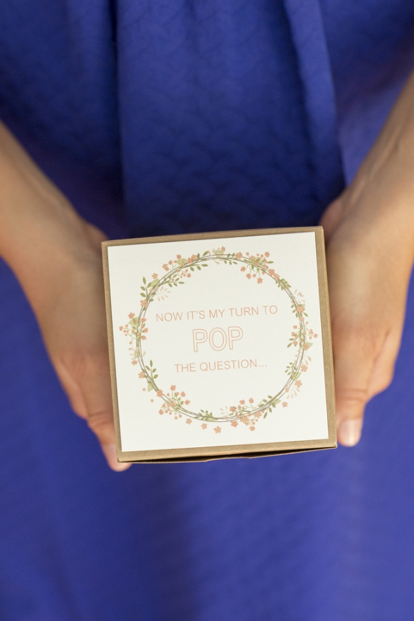 DIY Bridesmaids Box with Lindt Chocolate