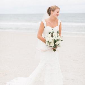 Classic Beach Bride
