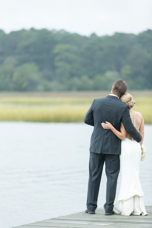 Romantic Charleston Wedding on the Marsh