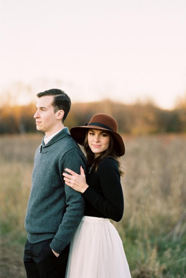 Romantic Nashville Engagement