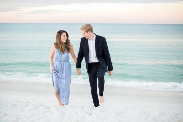 Rosemary Beach Engagement