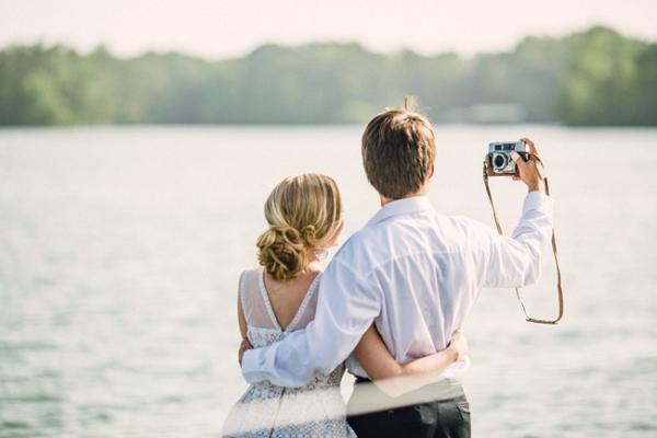 Honeymoon Inspiration Featuring A Travel Theme