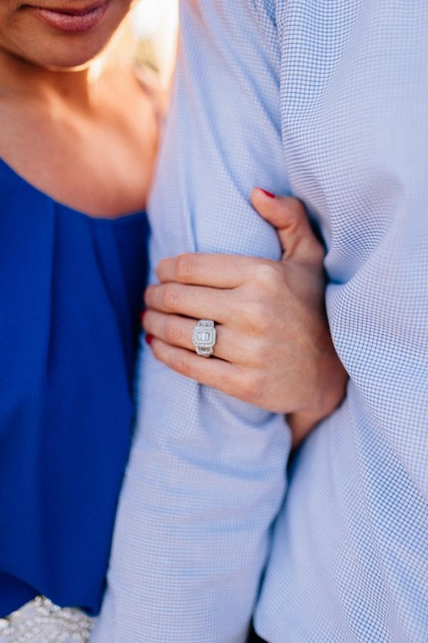 Three Stone Diamong Engagement Ring