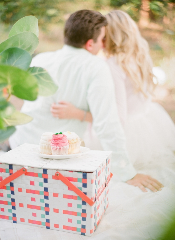Sweet Cupcake Engagement