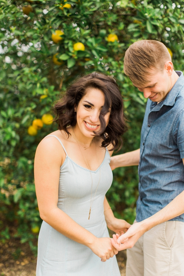Bok Tower Engagement Session