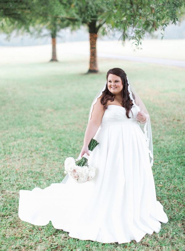 Bridal Portraits In Anderson South Carolina