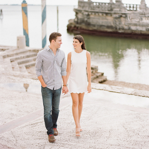Engagement By The Water In Miami