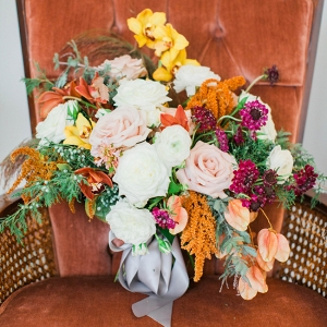 Fall Bouquet Of Orange And Yellow