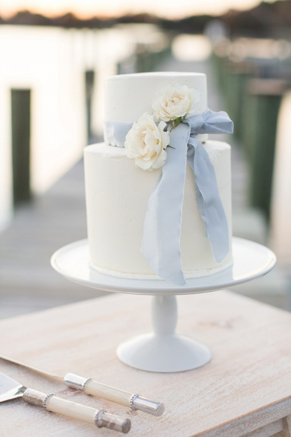 Styled Oyster Shell Shoot Featuring A Sail Boat