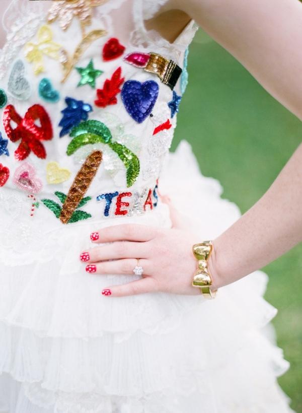 Eclectic Texas Wedding