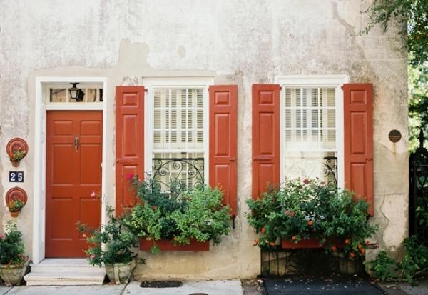 Vibrant Charleston Engagement Featuring a Tutu