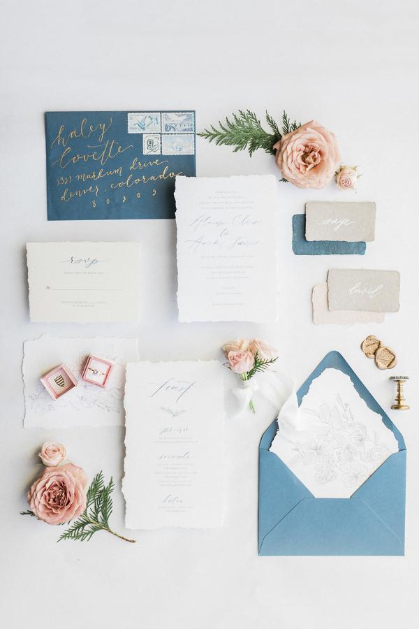 Pastel Wedding Invitation
