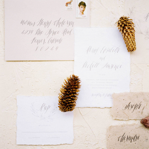 Mountain Wedding Wedding Invitation
