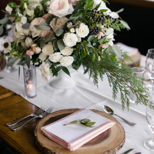 Mountain Wedding Decor