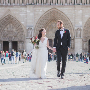 Paris elopement shoot