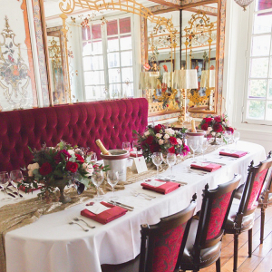 Paris restaurant wedding reception