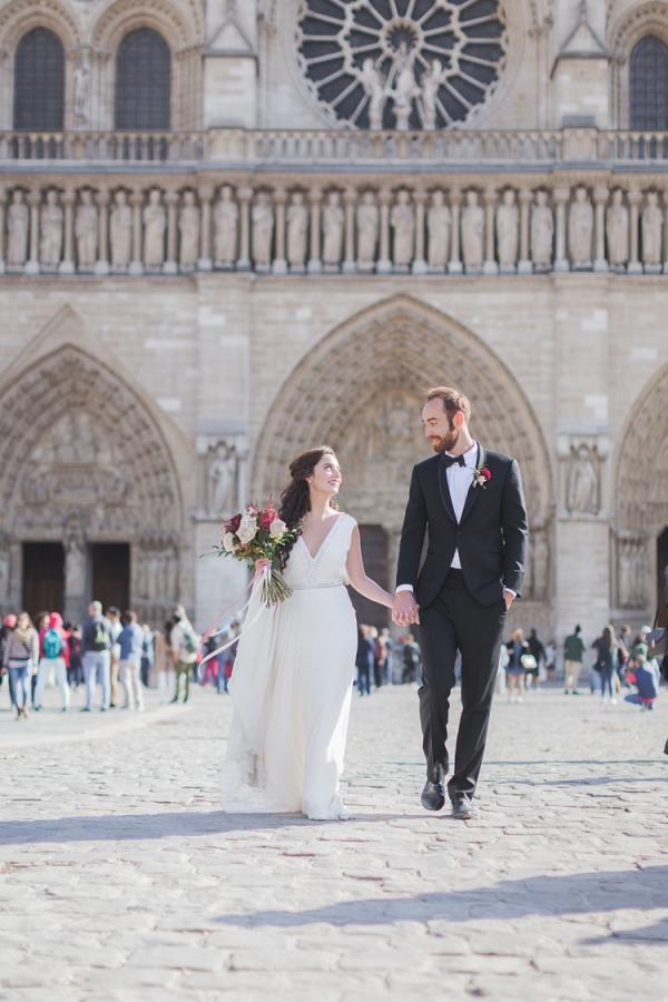 Paris elopement shoot