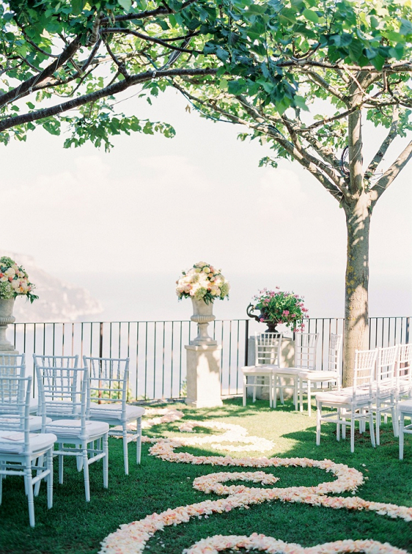 Cliffside ceremony