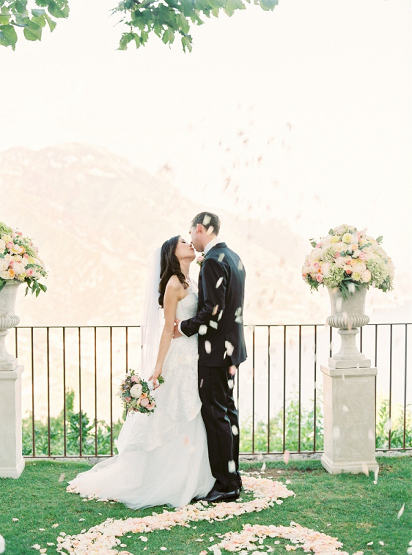 Outdoor Italy wedding