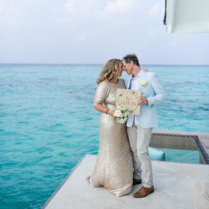 Maldives vow renewal