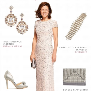 Blush Sequin MOB style