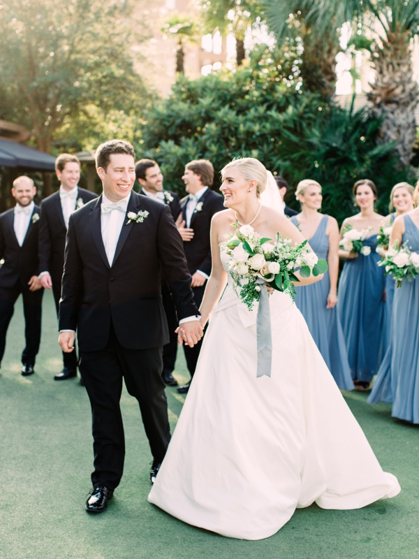 French blue wedding