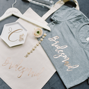 Bridesmaid T-Shirt and Tote