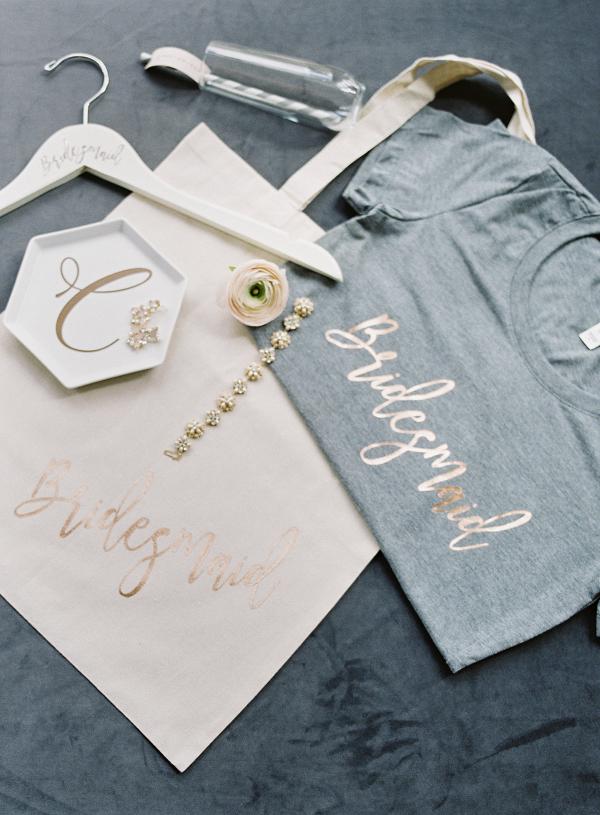 Bridesmaid T-Shirt and Tote