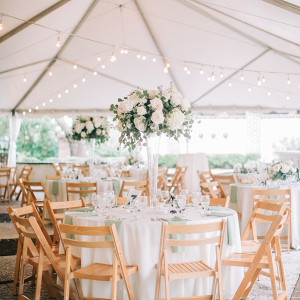 Charleston Tent Wedding Reception