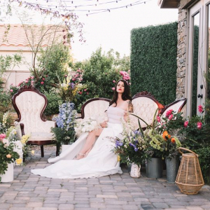 French countryside chic wedding inspiration