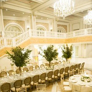 Trees at wedding receptions