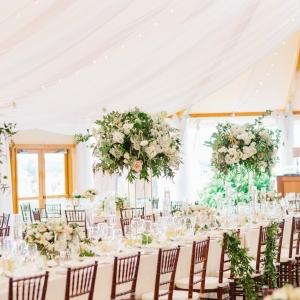 Elegant Green and Blush Wedding