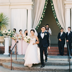 elegant outdoor ceremony from Elizabeth Anne Designs