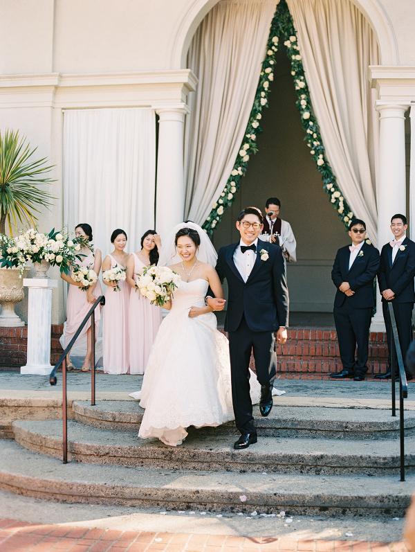 elegant outdoor ceremony from Elizabeth Anne Designs