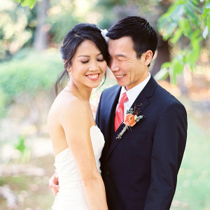 Elegant rustic California wedding