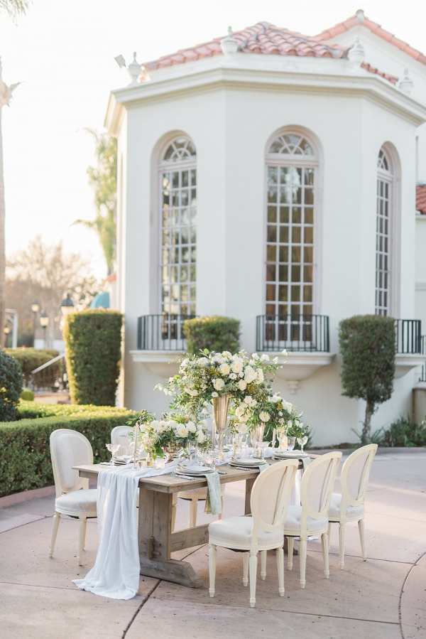 Elegant Wedding Table at Estate