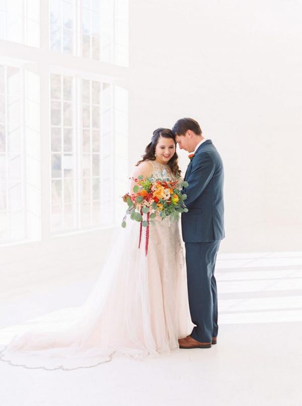 Fall Arkansas wedding