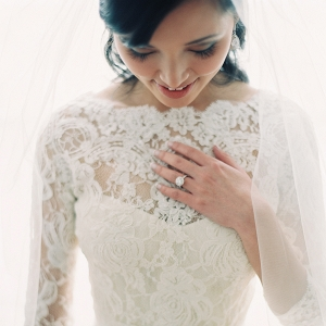Bride in Lace Bolero