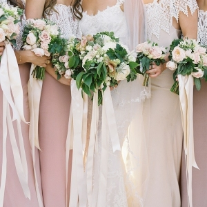 Mauve Bridesmaids Dresses