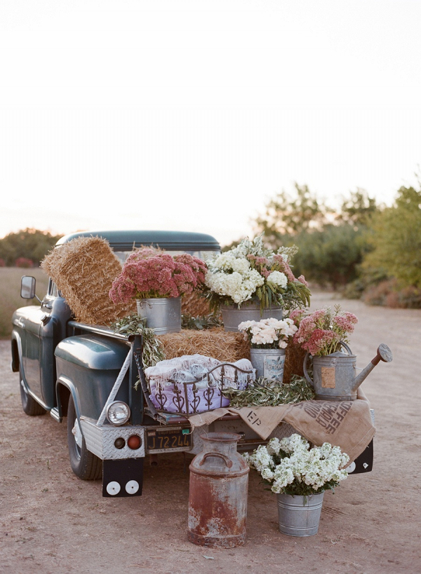 Vintage truck decor