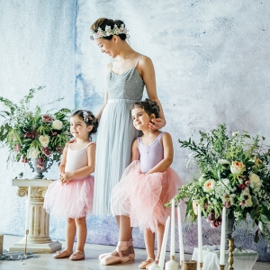 Ballerina Flower Girls