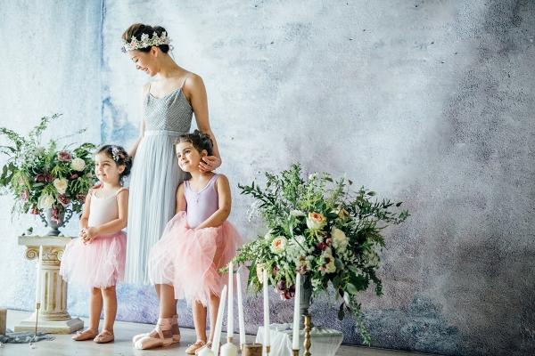 Ballerina Flower Girls