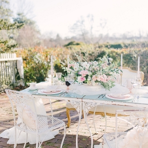 Romantic Wedding Table for Four