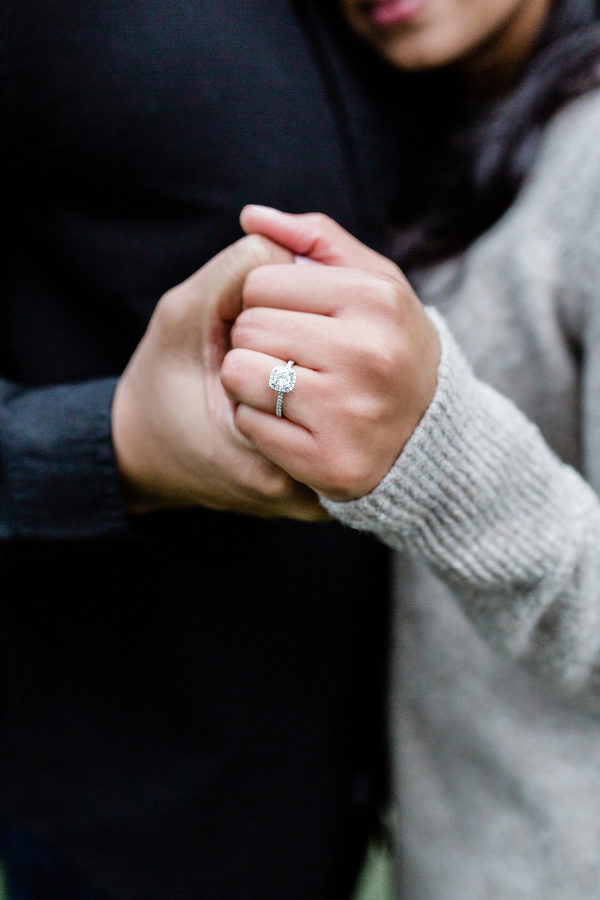 Eco friendly engagement ring from Clean Origin