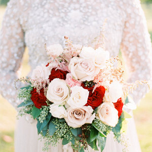 Rose and Astilbe Bouquet