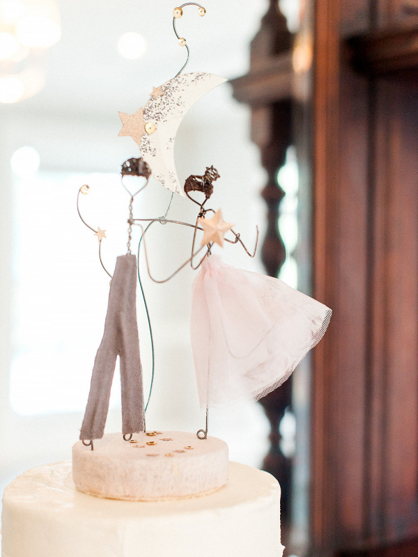 Wire Dancing Cake Topper