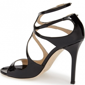 Jimmy Choo Lang Sandal Black Side