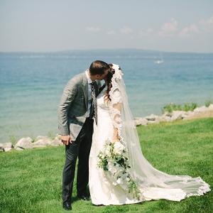 Seaside wedding on Elizabeth Anne Designs
