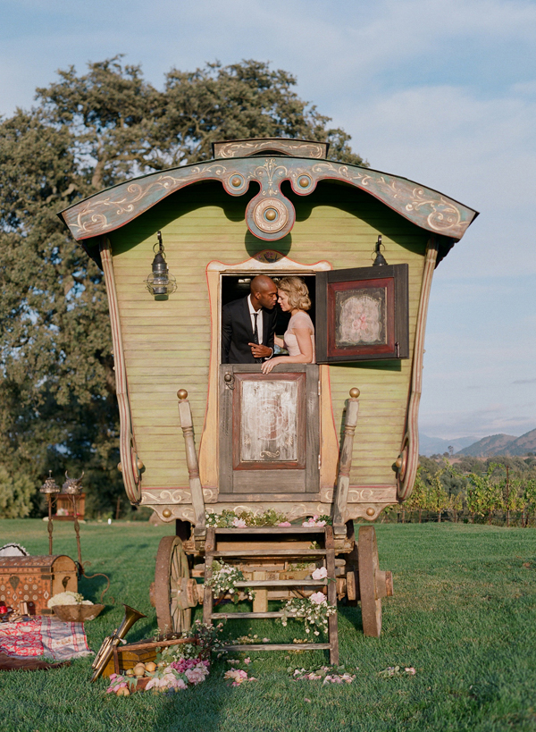 Exotic Middle Eastern Caravan Elopement