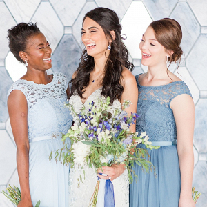 Blue Bridesmaids Looks